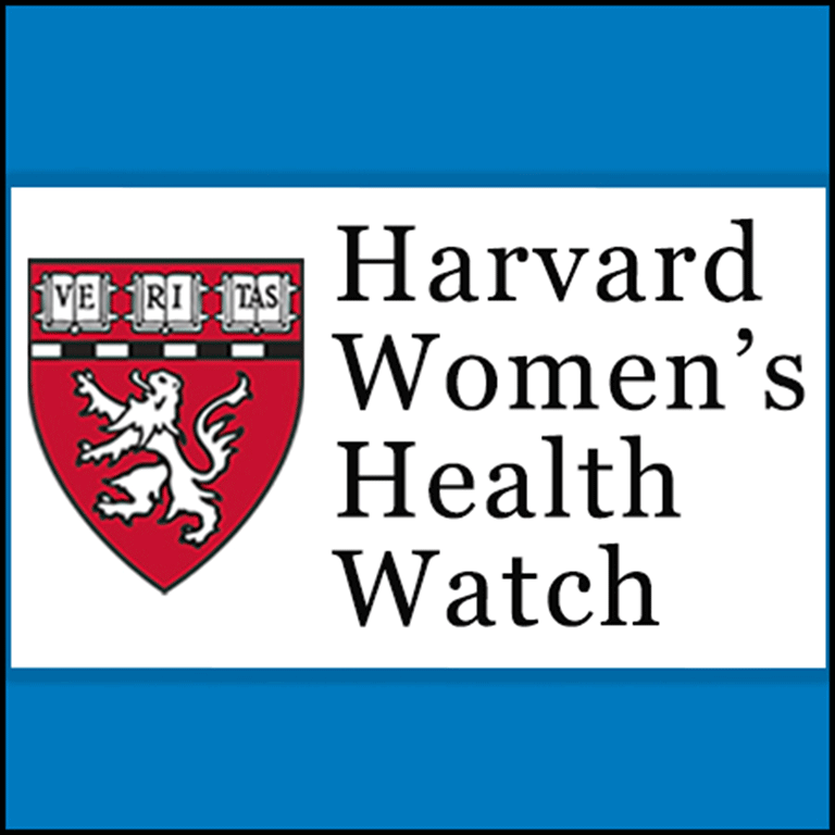 image of Harvard Womens Health Watch newsletter logo