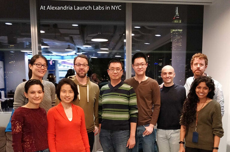 photo of BEC group at Alexandria Launch Labs, NYC