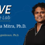 Hero image for Live at the Lab event with Partha Mitra