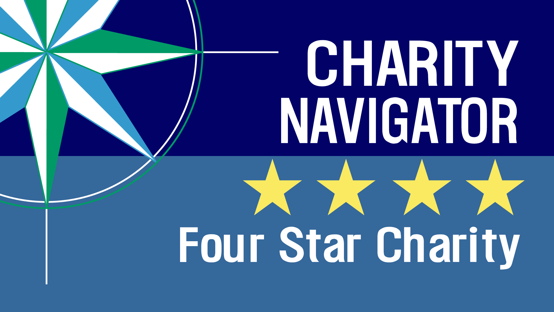 image of four star charity navigator logo
