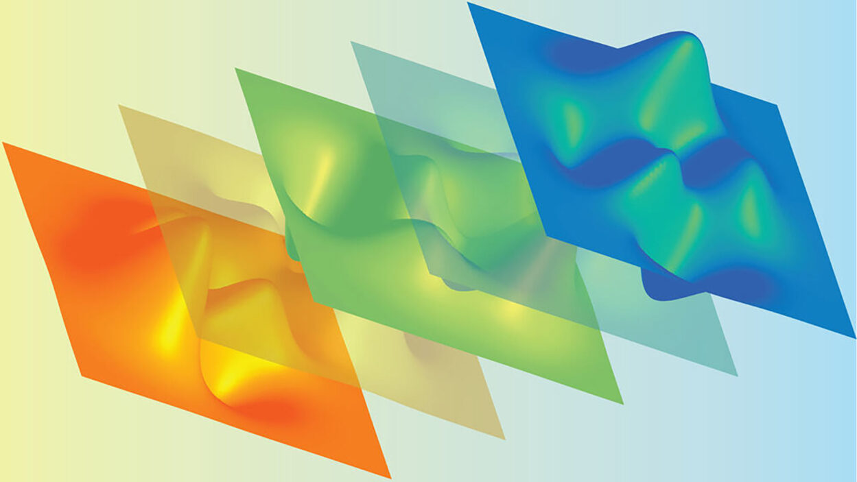 computer generated image of shapes