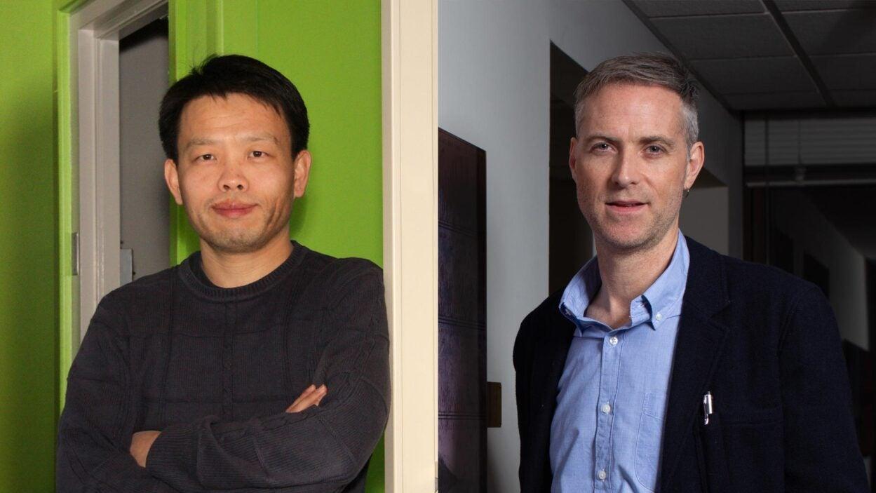 photo of Bo Li and Richard Sever