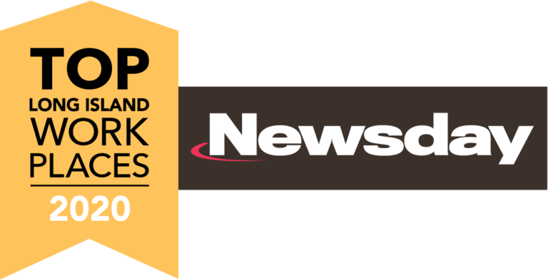 image of Newsday top workplaces logo 2020