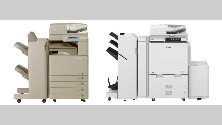 photo of 2 office printers