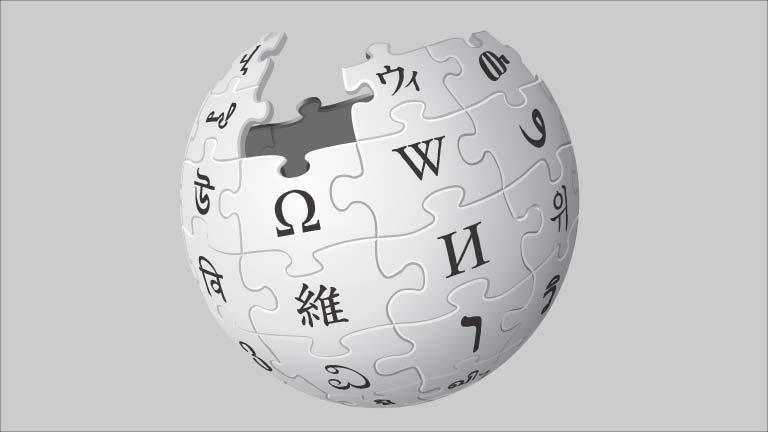 image of the wikipedia logo