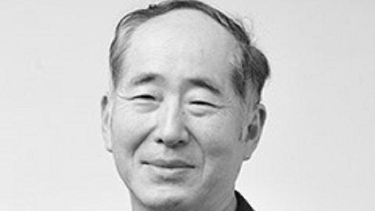 A grayscale headshot of Dr. Hideki Kambara