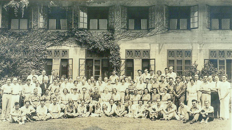 historic photo of the Long Island Biological Association