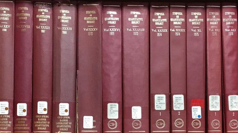 photo of bound volumes of symposiums