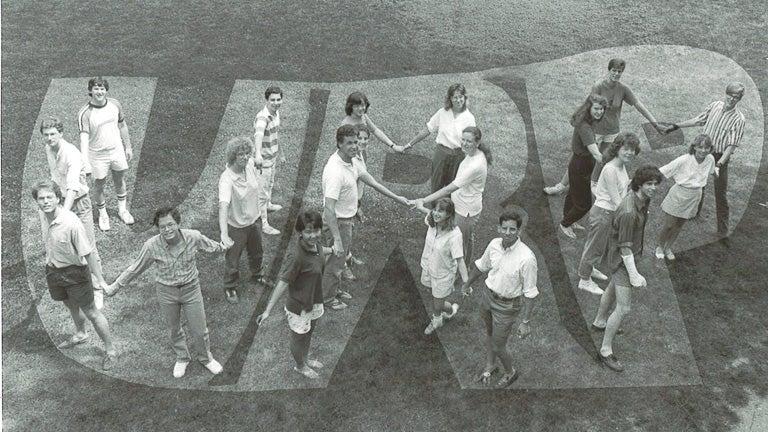 photo of URP participants