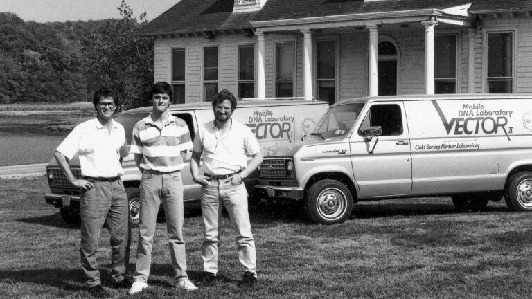 photo of Dave Micklos, Jeff Diamond, and Greg Freyer