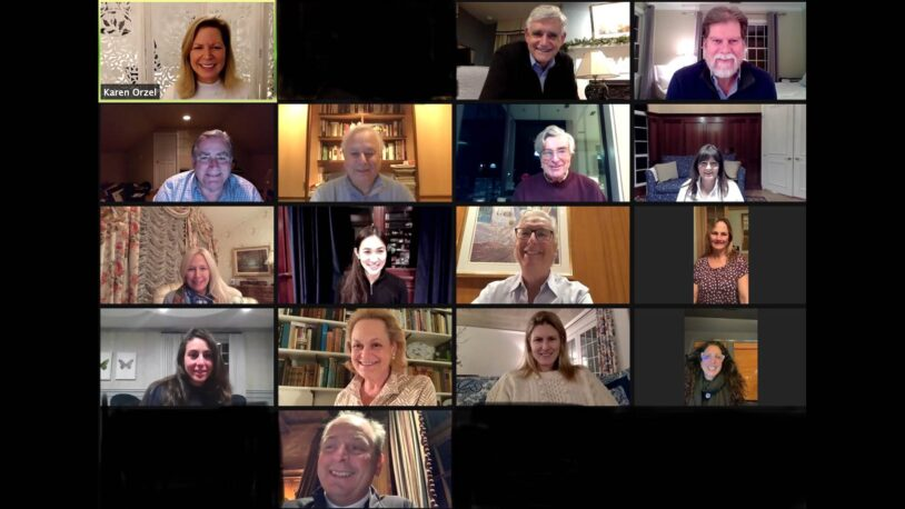 screen capture of the 2021 CSHL Association meeting