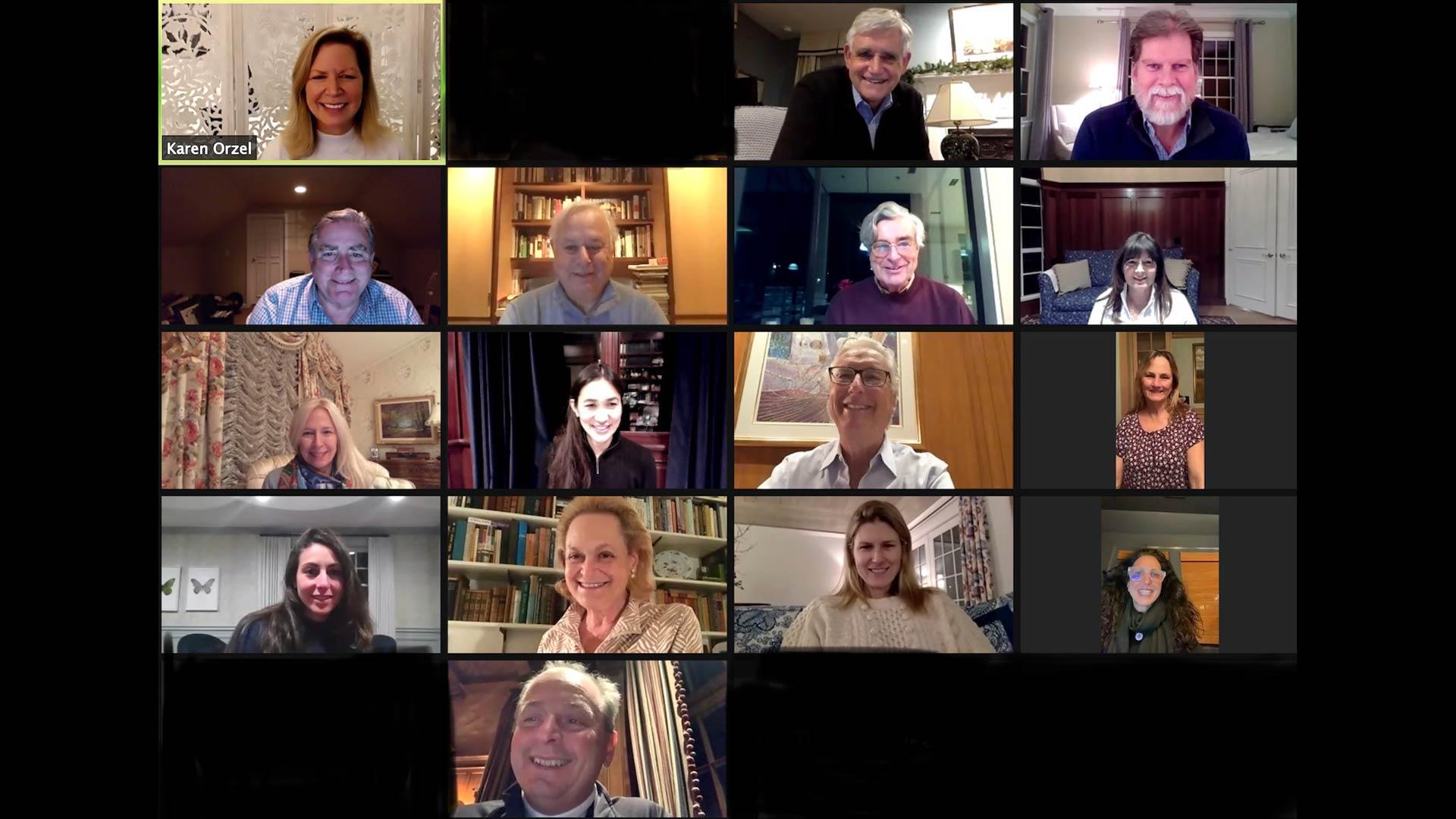 screen capture of the 2021 CSHL Association meeting