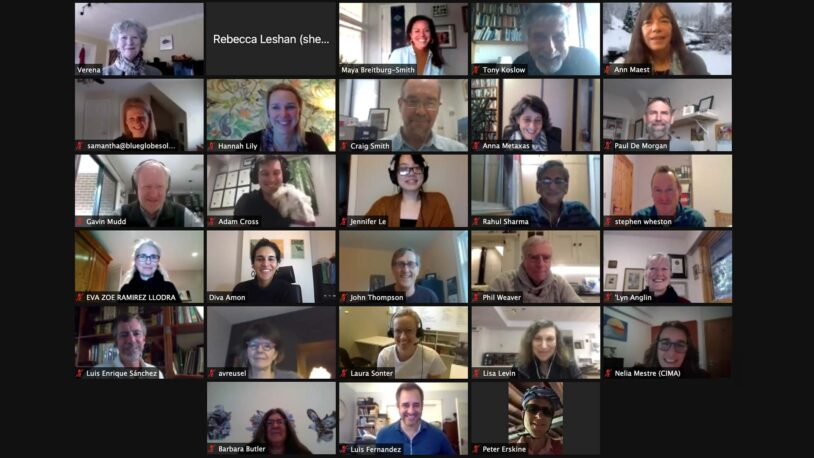 screen capture of the 2021 SEA meeting participants