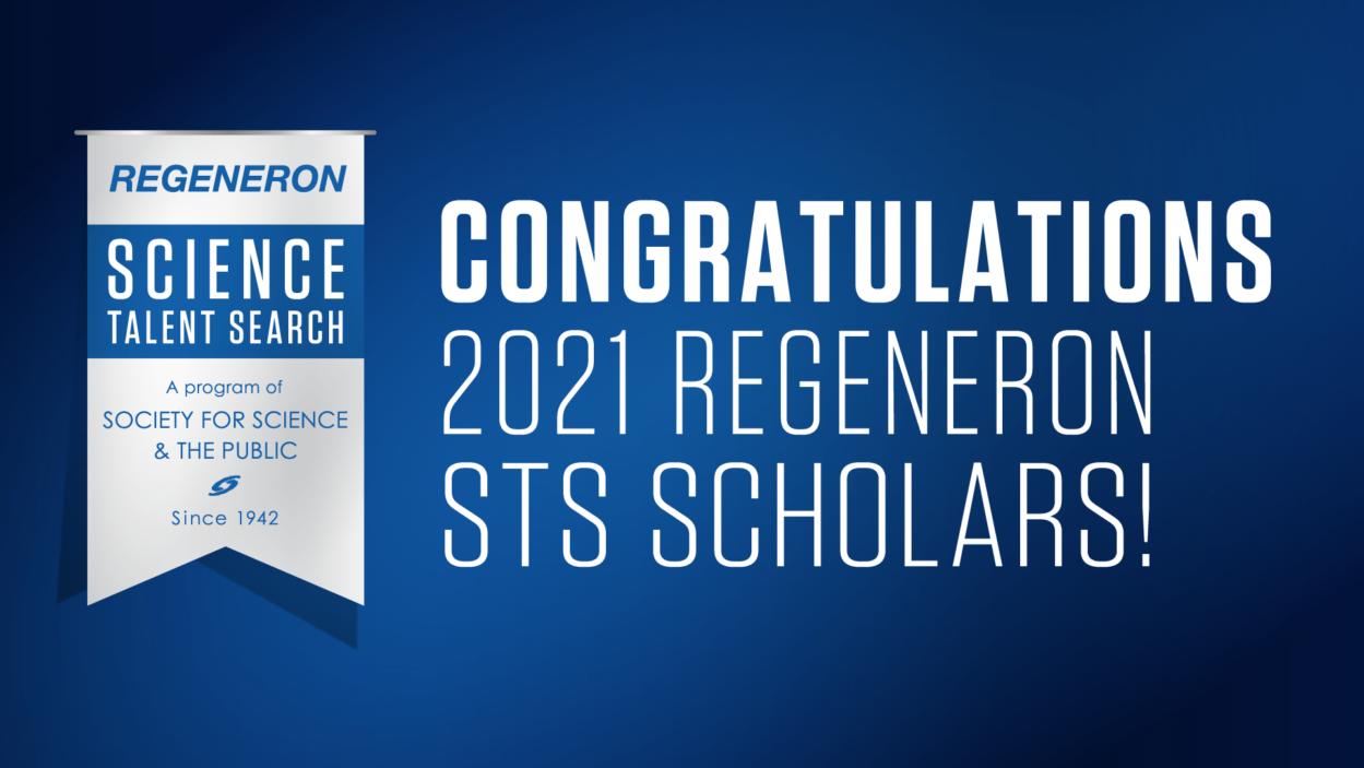 image of 2021 regeneron scholars logo