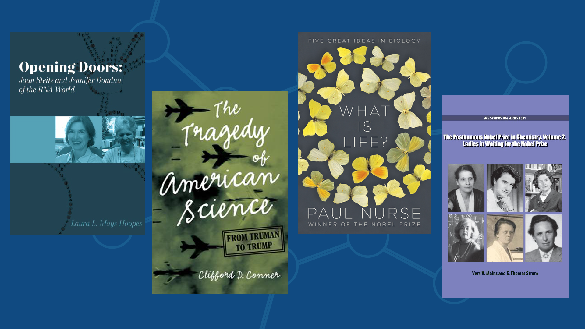 Book covers: New Books March 2021