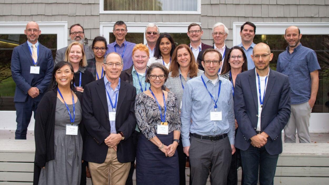 group photo of 2019 Banbury mental health meeting participants