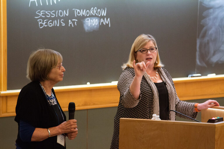 photo of Sharon Hillier at CSHL