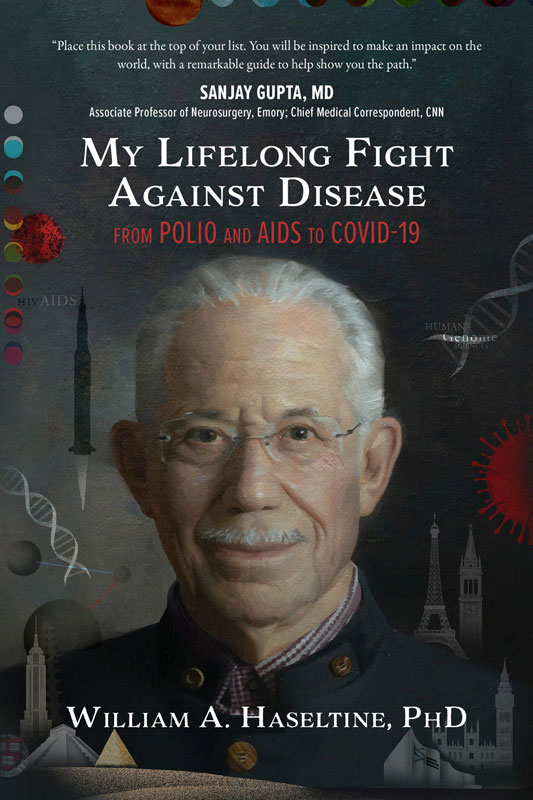 Book cover: My Lifelong Fight Against Disease