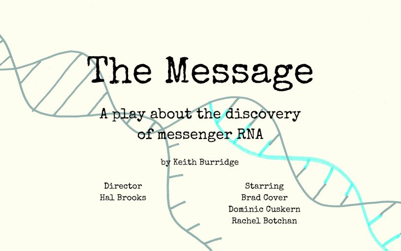 image of ad for The Message event at the Center for Humanities