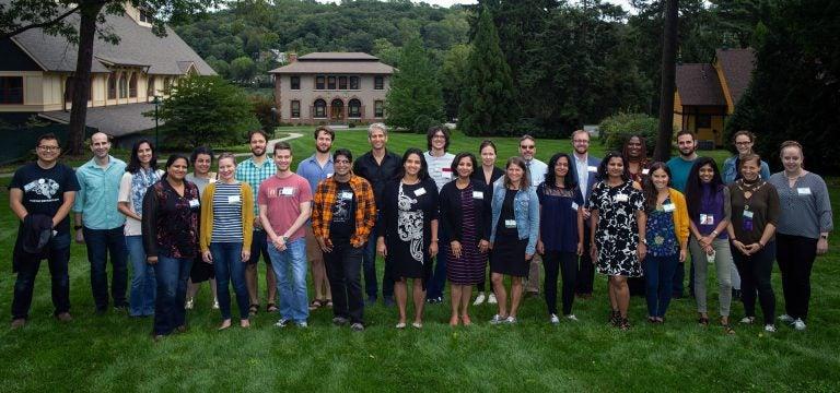 photo of Postdoc retreat participants