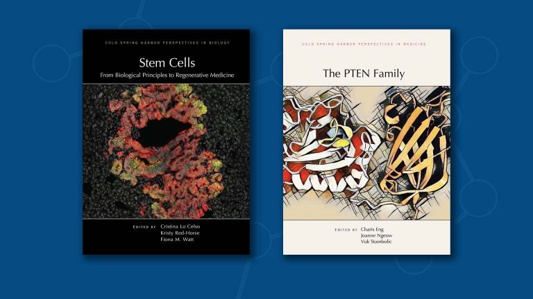 image of two journal covers published by CSHL Press