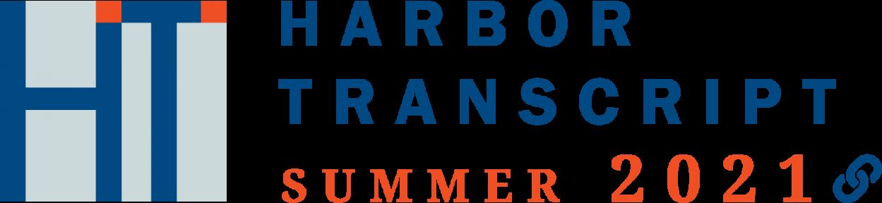 image of the Harbor Transcript logo Summer 2021 edition