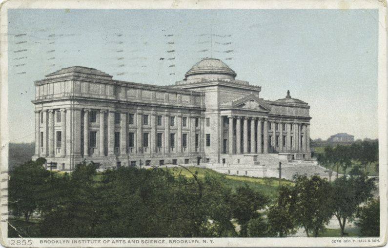 The Brooklyn Institute of Arts and Sciences Postcard