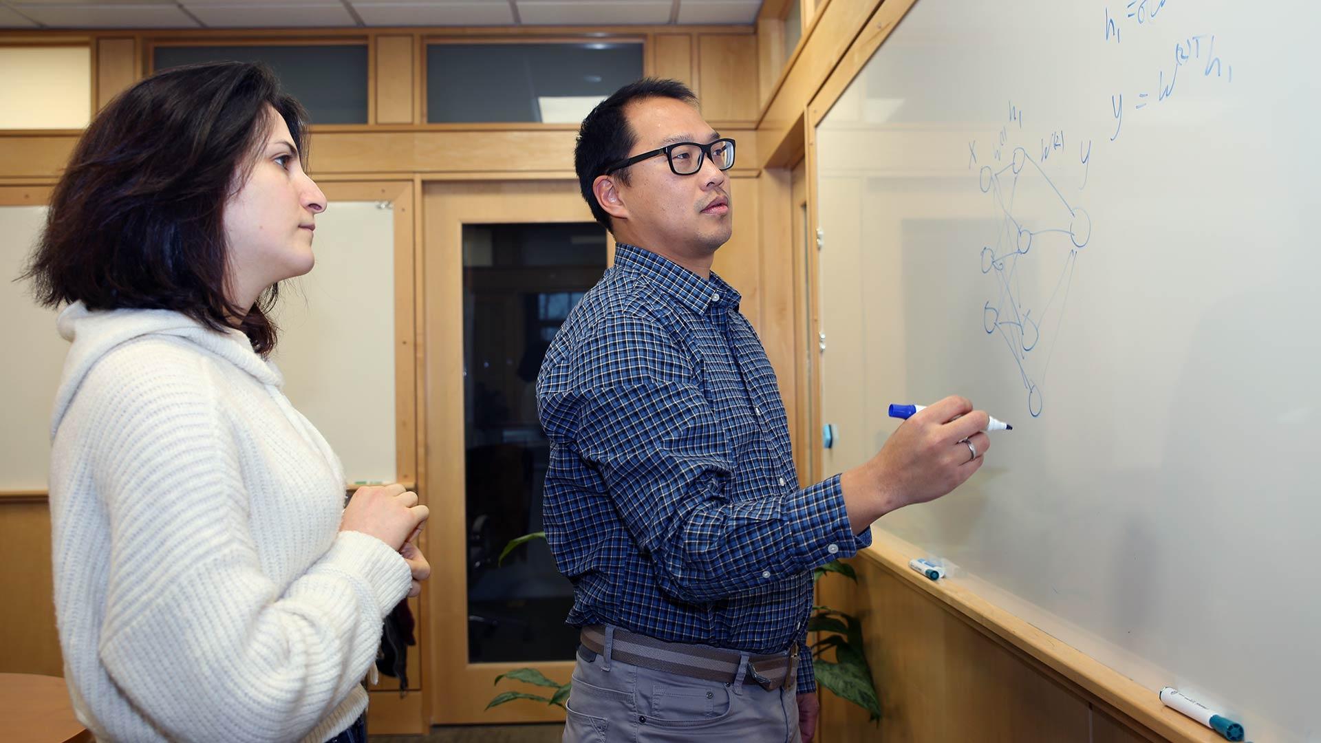 photo of Peter Koo and Shushan Toneyan