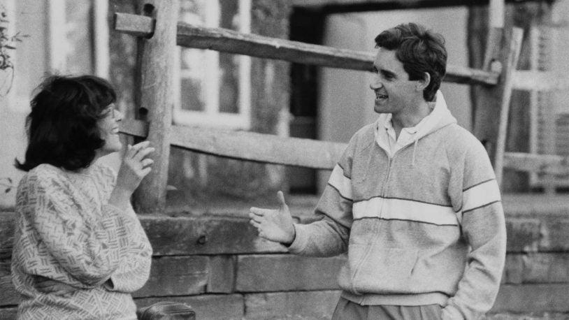 photo of Terri Grodzicker and Bruce Stillman, 1986