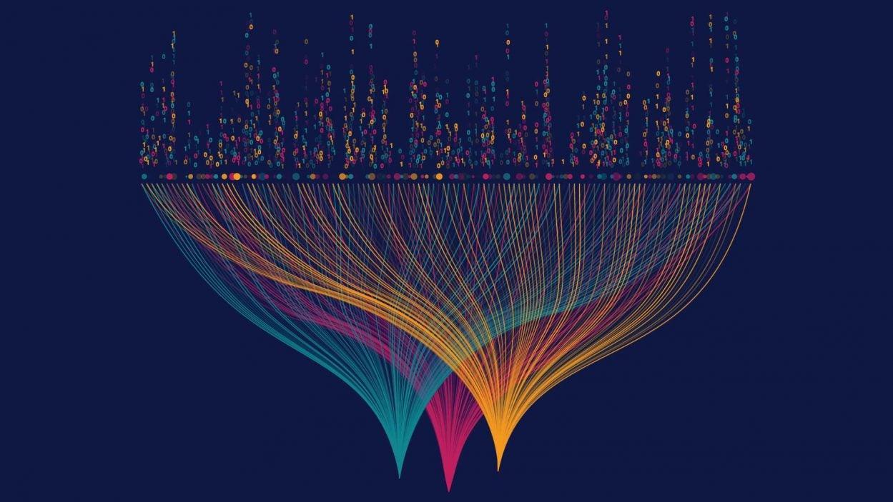 illustration of big data