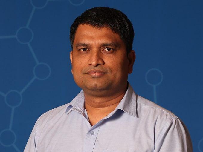 photo of postdoc Nitin Pawar