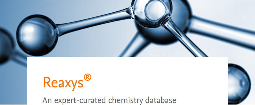 New Subscription to Reaxys Chemical Database
