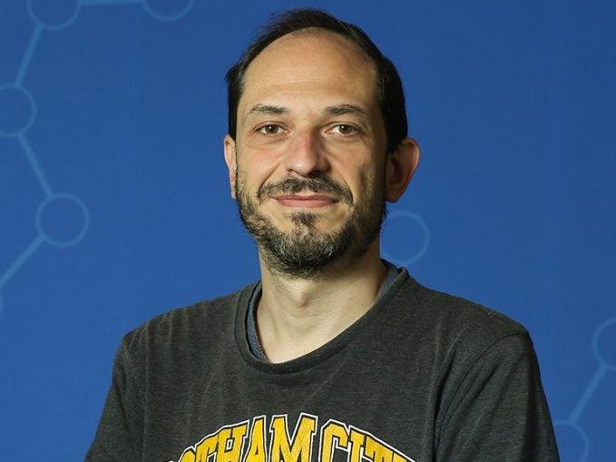 photo of postdoc Ricardo Gomez-Garcia