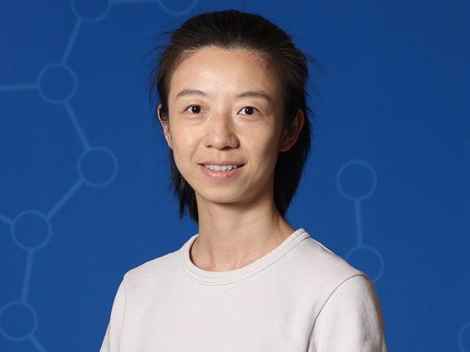 photo of postdoc Yue Wu
