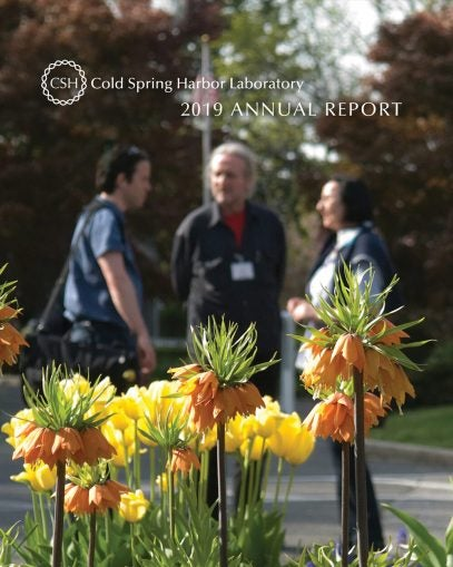 image of the 2019 CSHL Annual Report cover