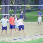 photo of CSHL volleyball players, 2000