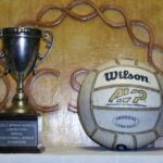 photo of the CSHL The Tiernan Cup and volleyball