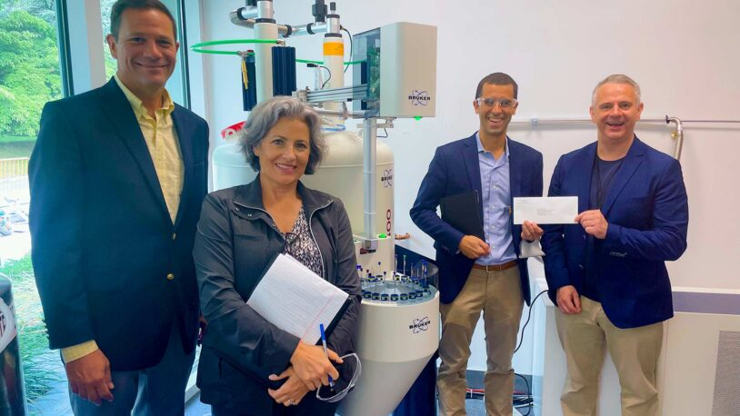 F.M. Kirby Foundation donates $115K for chemistry research